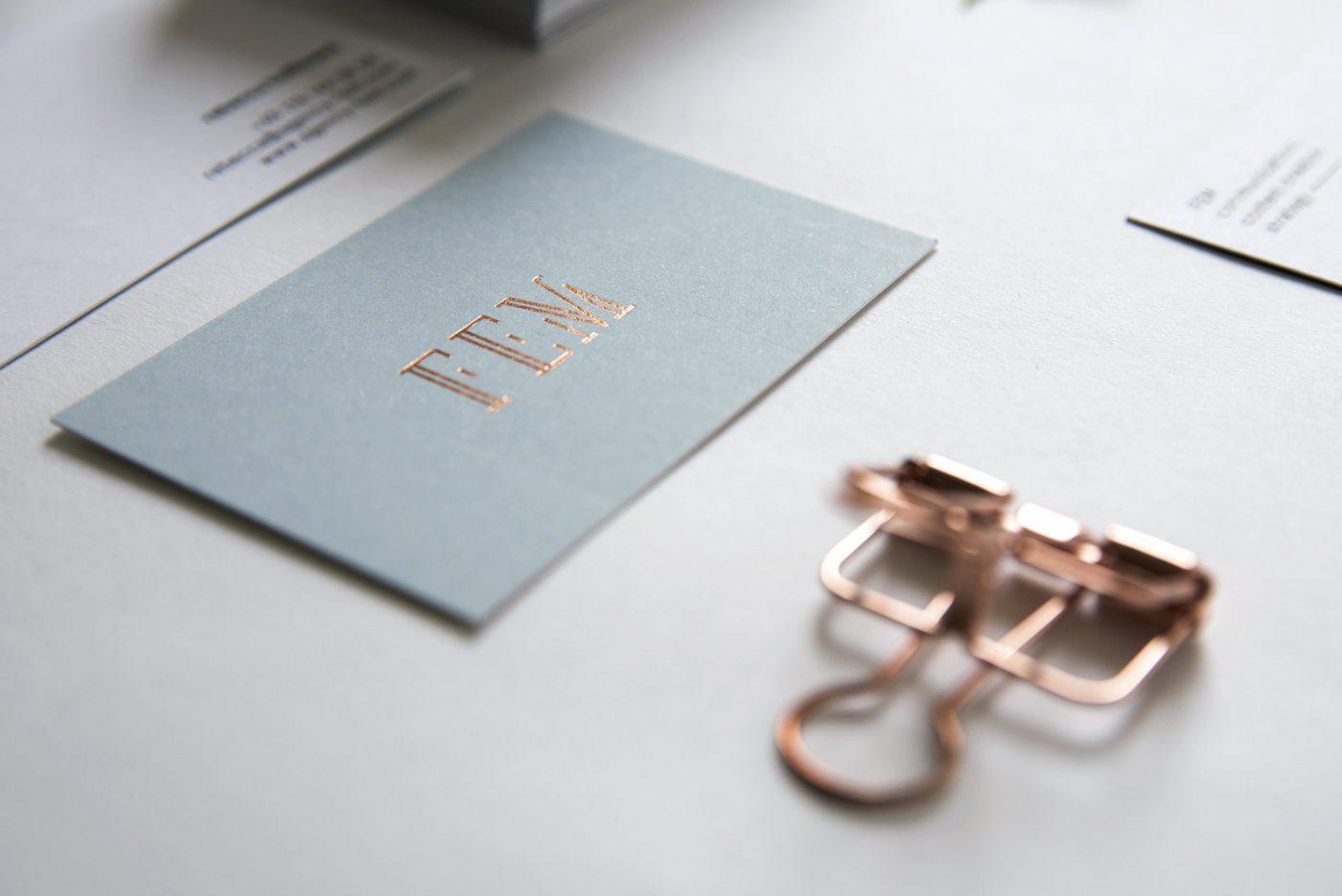 FEM Business Card Design by upstruct