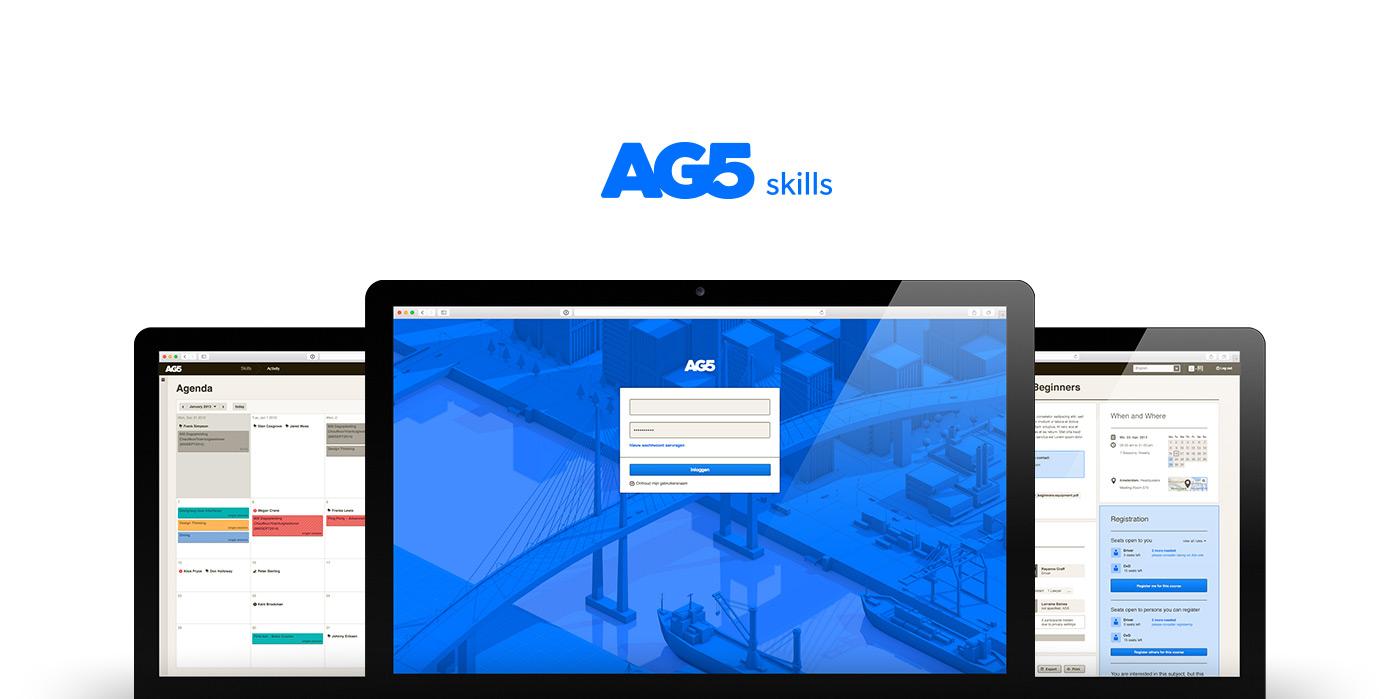 AG5 App UI - by upstruct