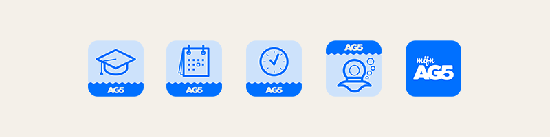 AG5 App Icons by upstruct