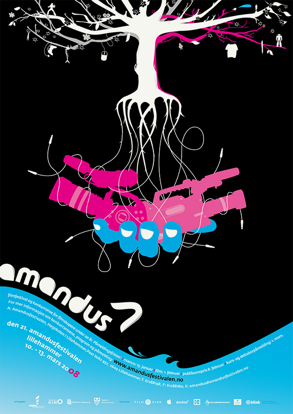 Amandus Film Festival Poster 2008 by upstruct
