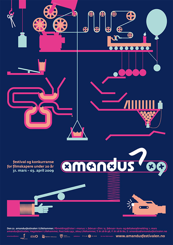 Amandus Film Festival Poster 2009 by upstruct