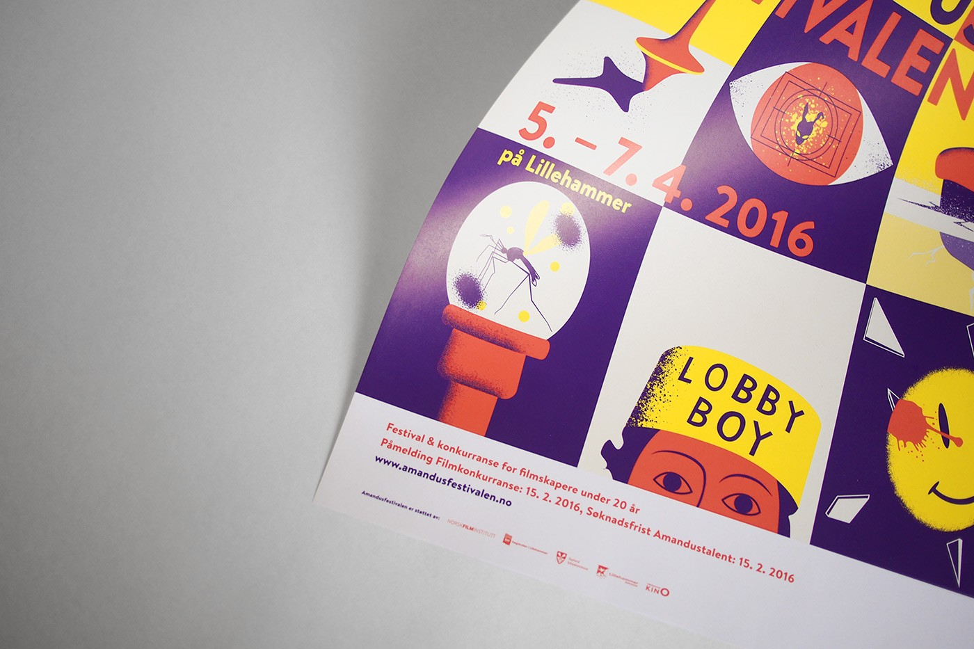 amandus 2016 poster design by upstruct