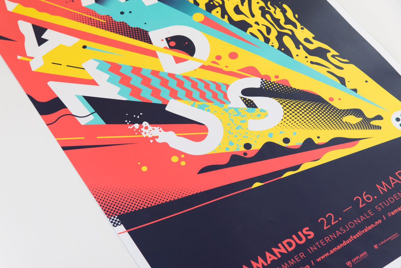 Amandus Film Festival Poster Design by upstruct