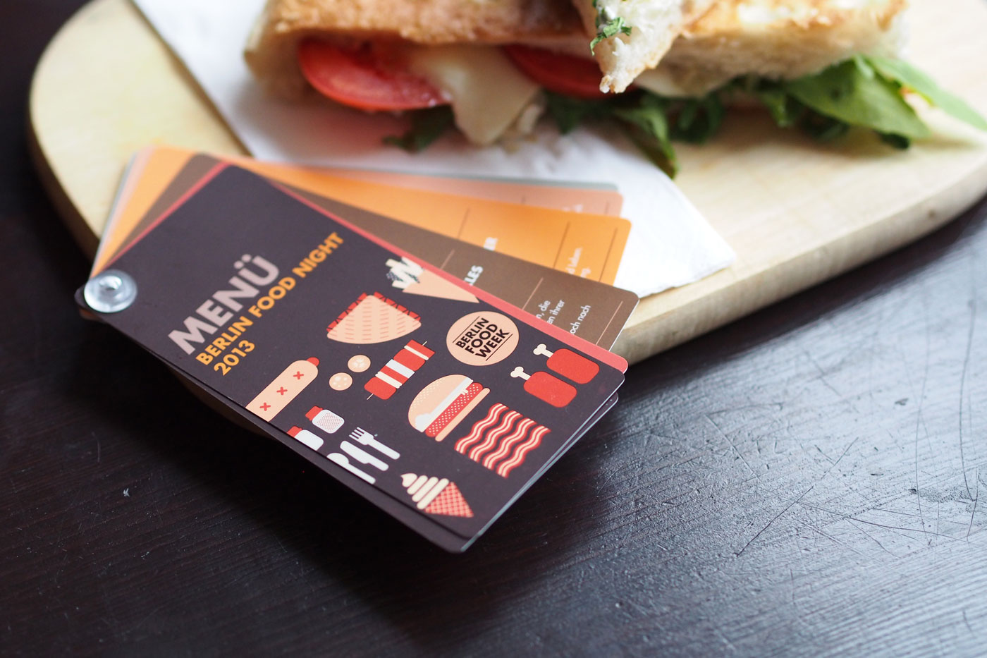 Berlin Food Night / Berlin Food Week - Design - upstruct