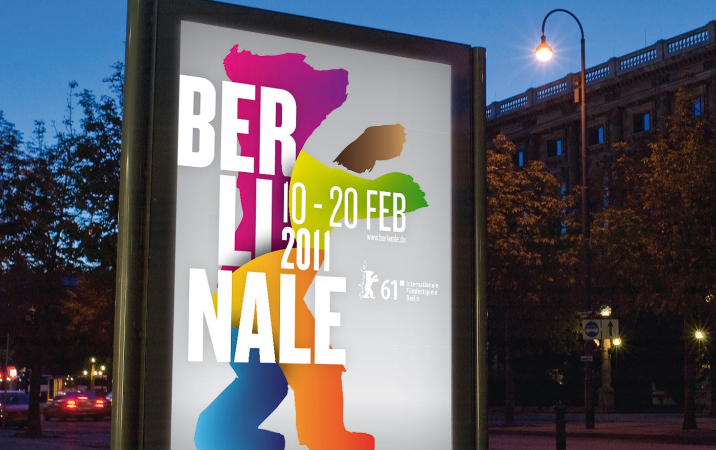 Berlinale Artwork by upstruct