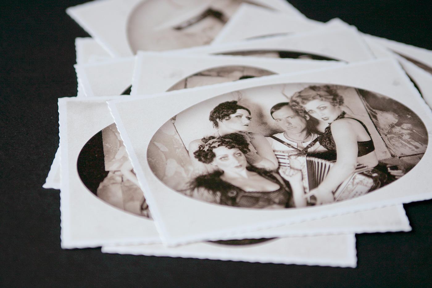 Cabaret Postcards by upstruct