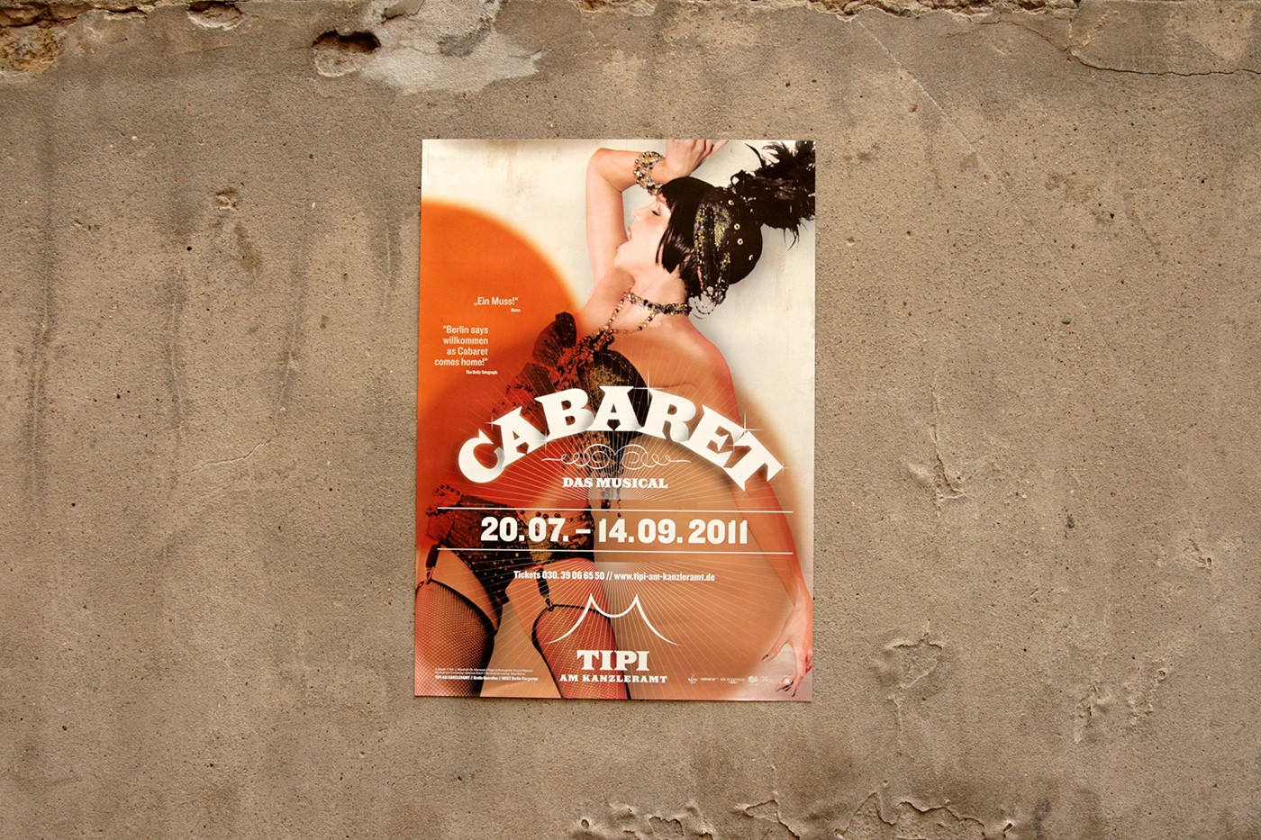 Cabaret poster by upstruct