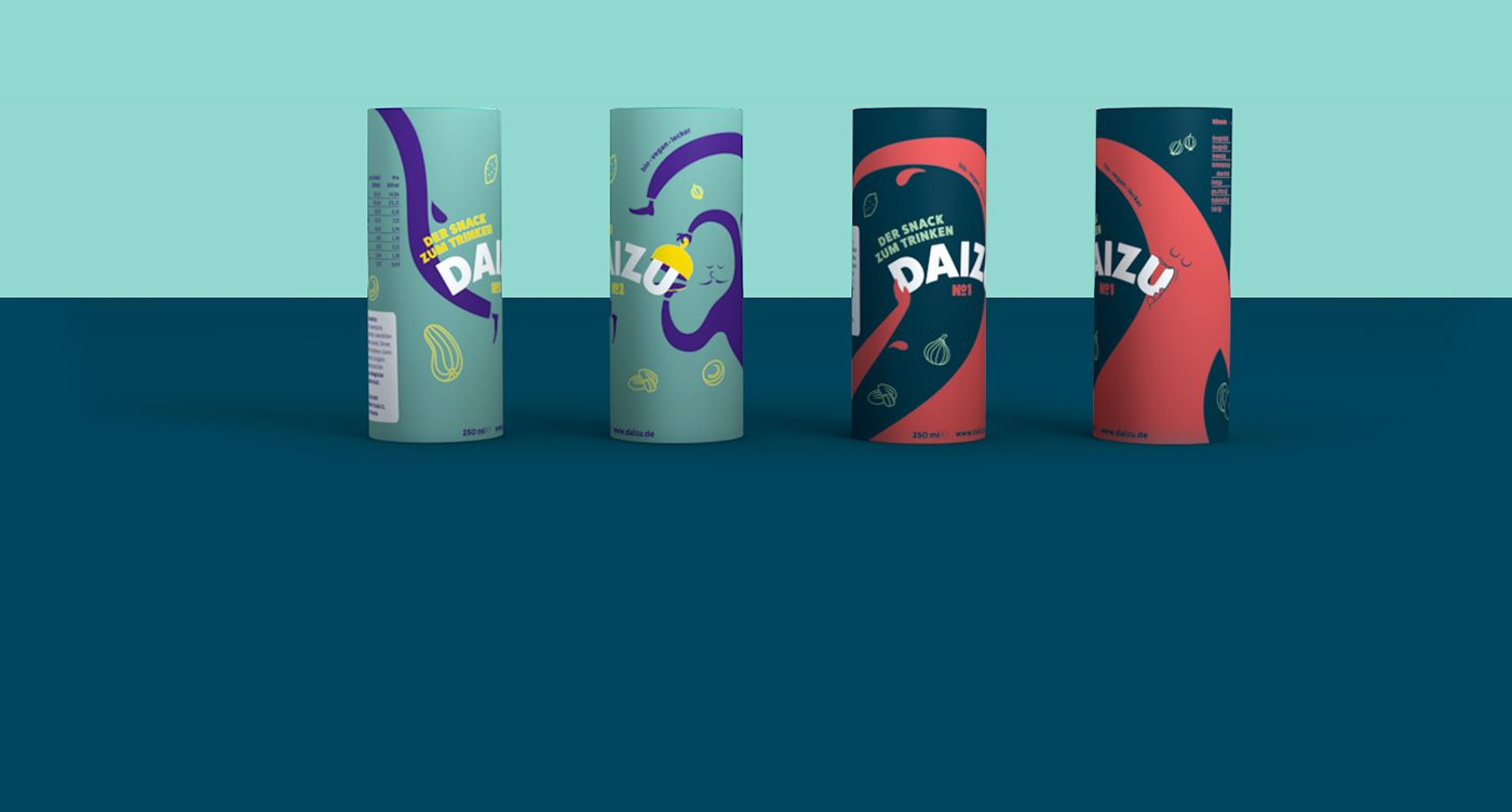 Daizu Snack Drink – Brand and Package Design by upstruct