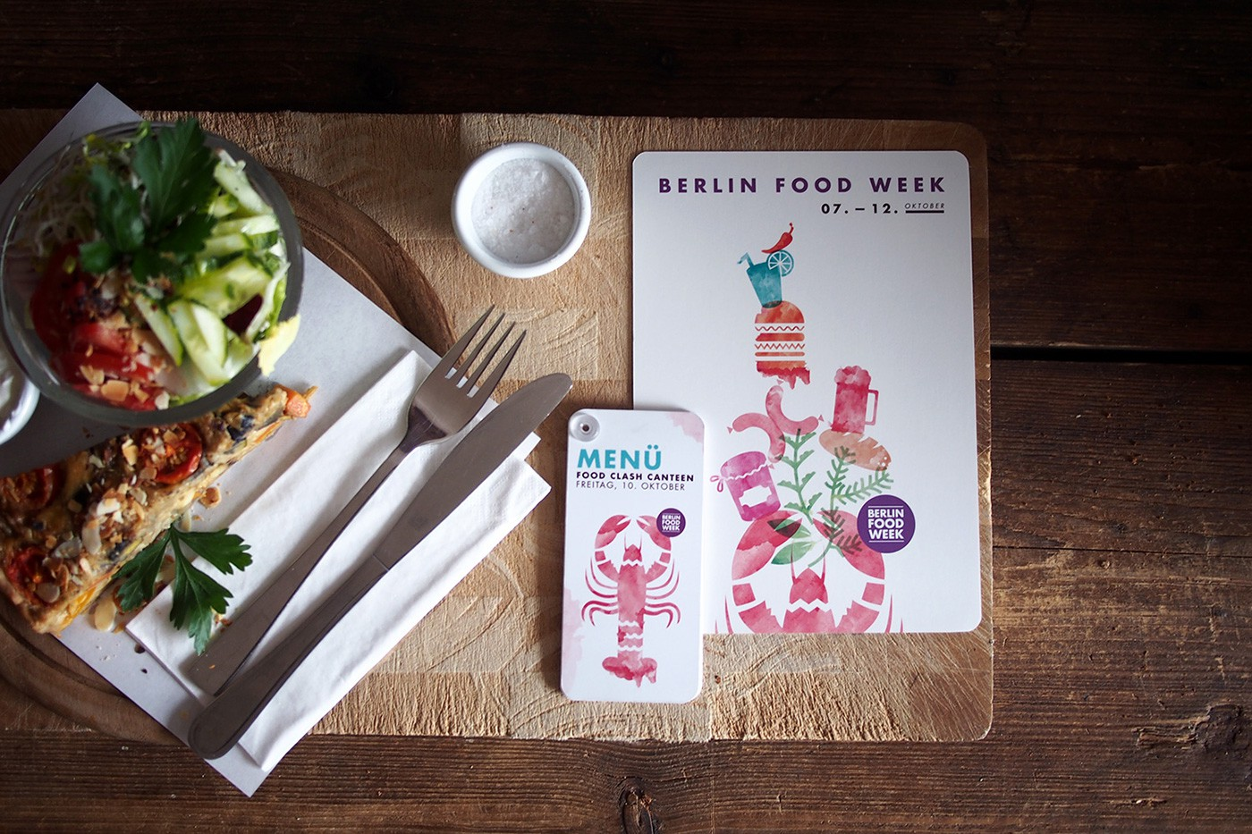 Berlin Food Week 2014 design by upstruct