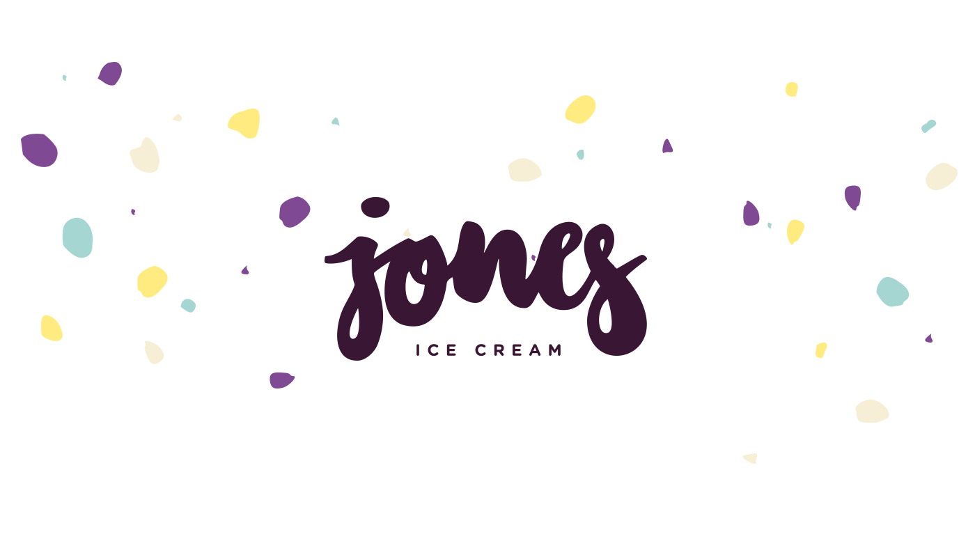 Jones Ice Cream – Branding by upstruct