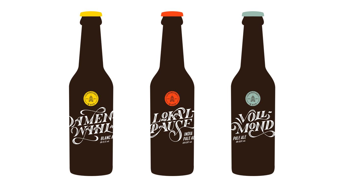 Leidenschaft in Bier - Brand design for craft beer - by upstruct