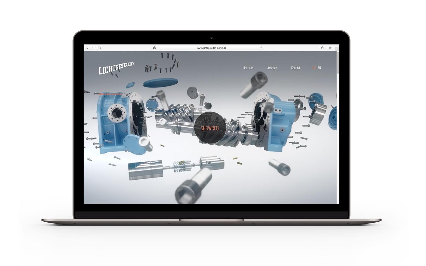 Lichtgestalten Brand & Web Design by upstruct