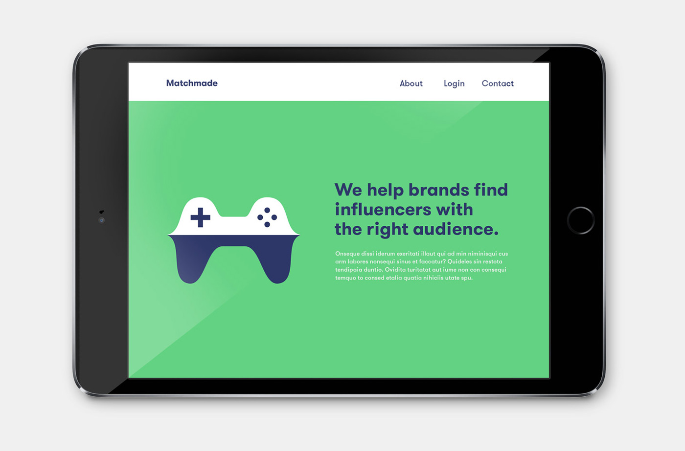 matchmade web design by upstruct and muskat