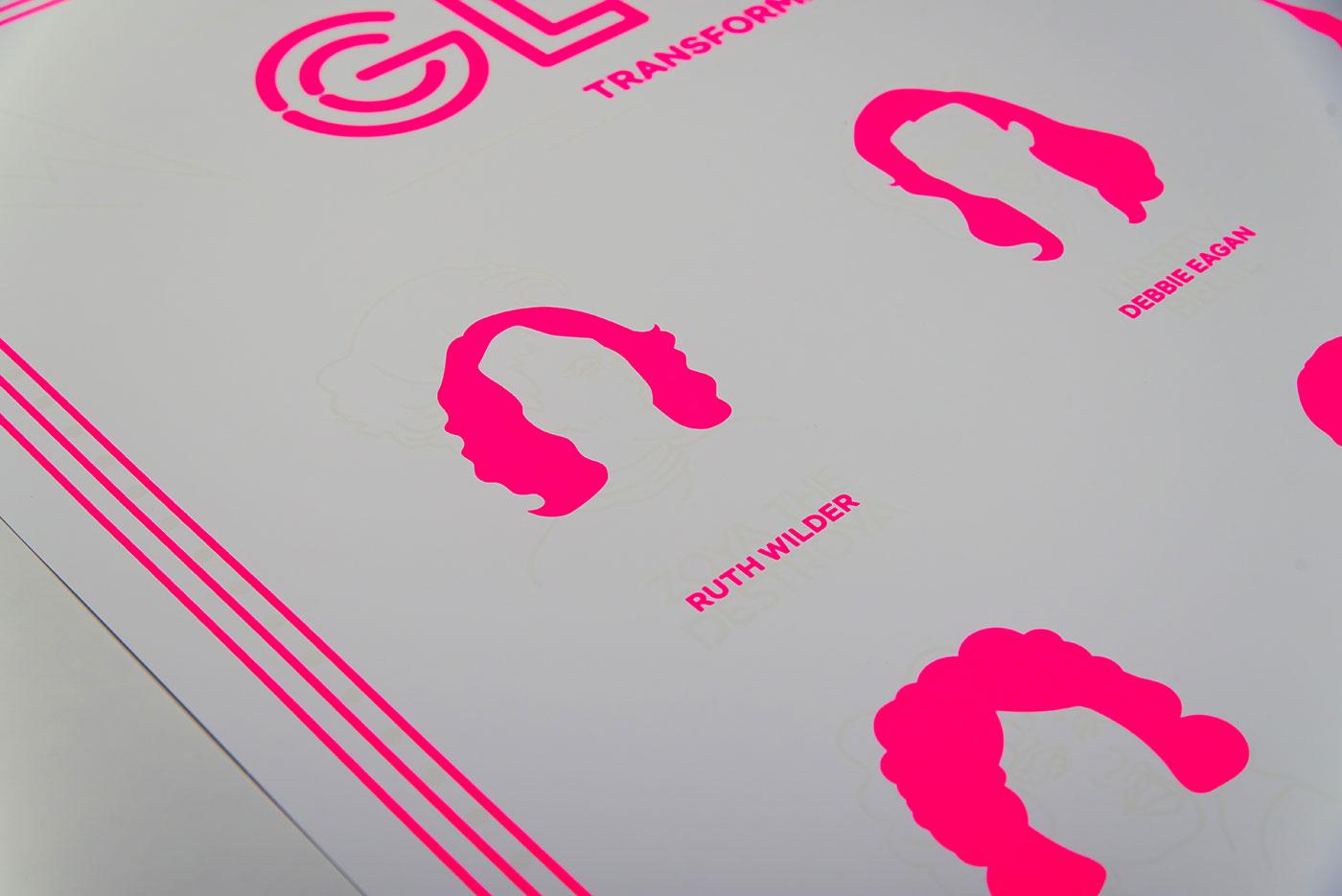 Netflix GLOW - poster design by upstruct