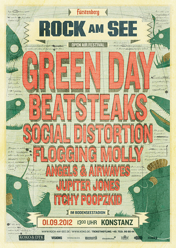 Rock Am See 2012 - Poster by upstruct