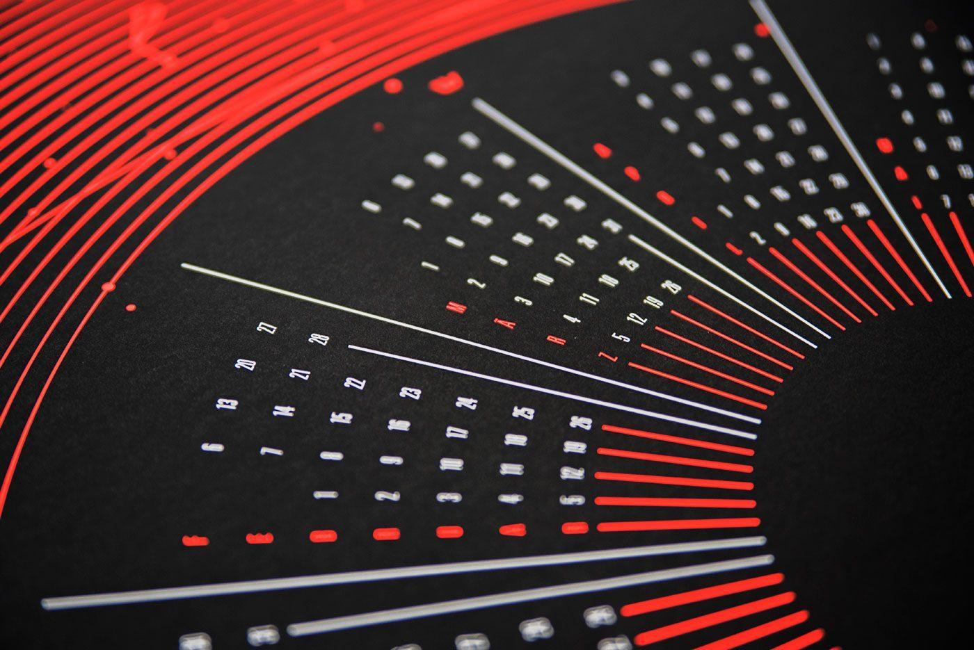 upstruct calendar 2017 - screenprint poster - 08