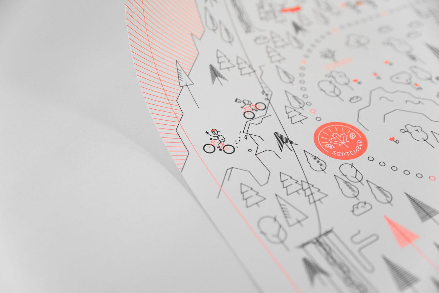 upstruct calendar 2018 - bikers