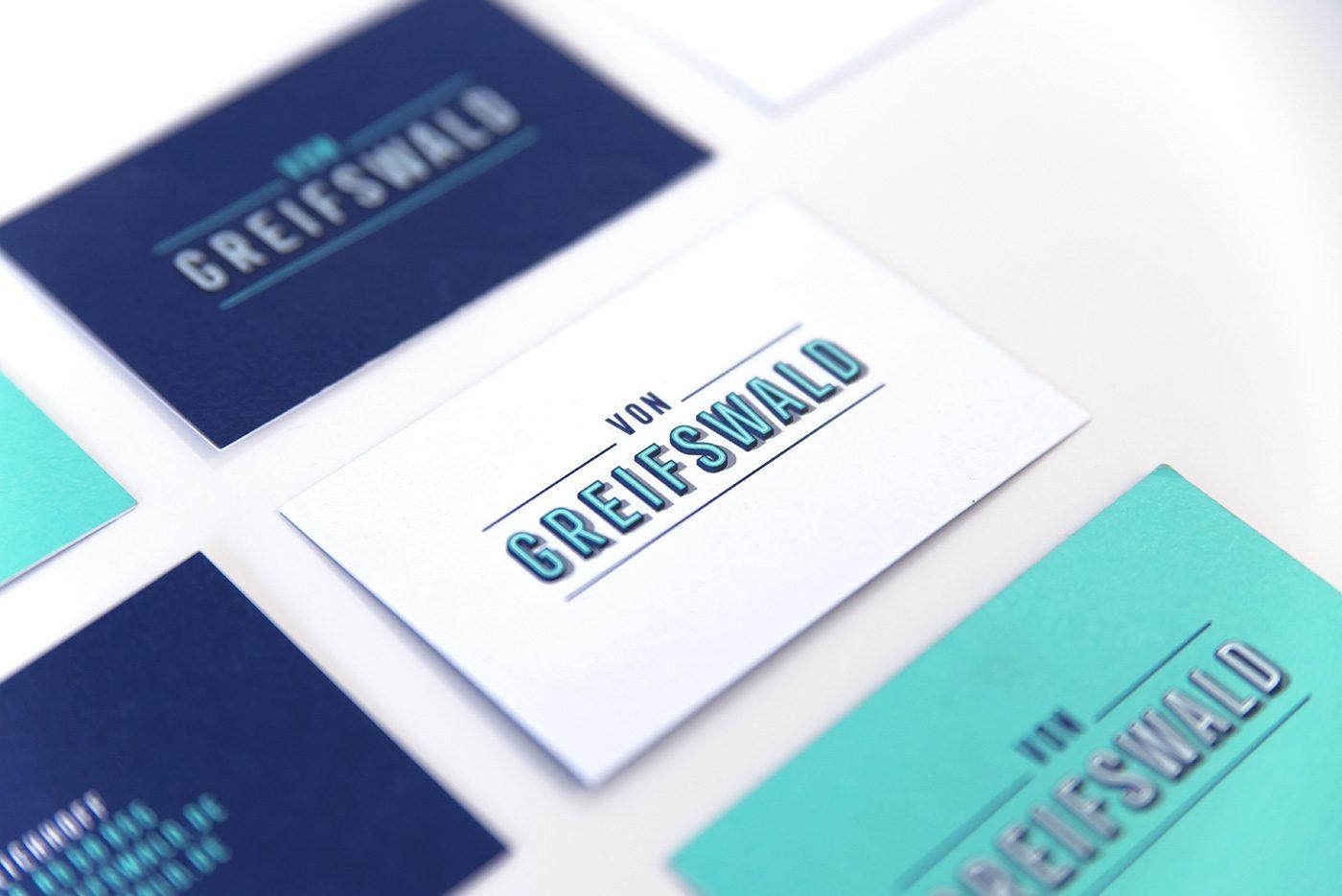 von Greifswald – Event Location Berlin - Brand Design by upstruct
