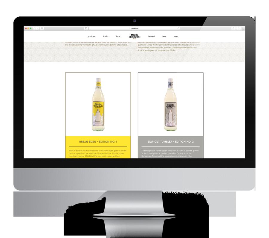 ZNAIDA website by upstruct